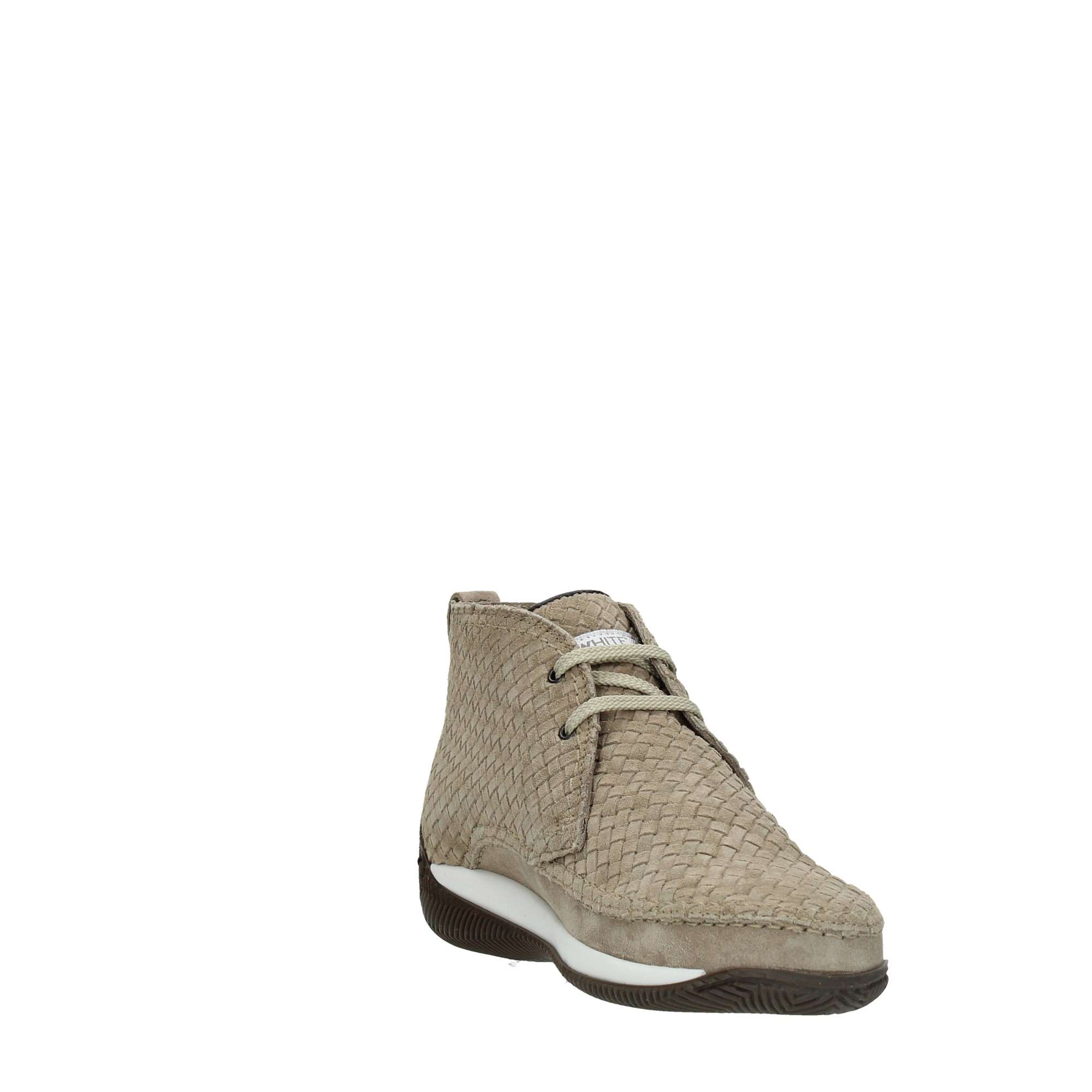 Lo.white Shoes Man Booties Beige 28030/BROWN