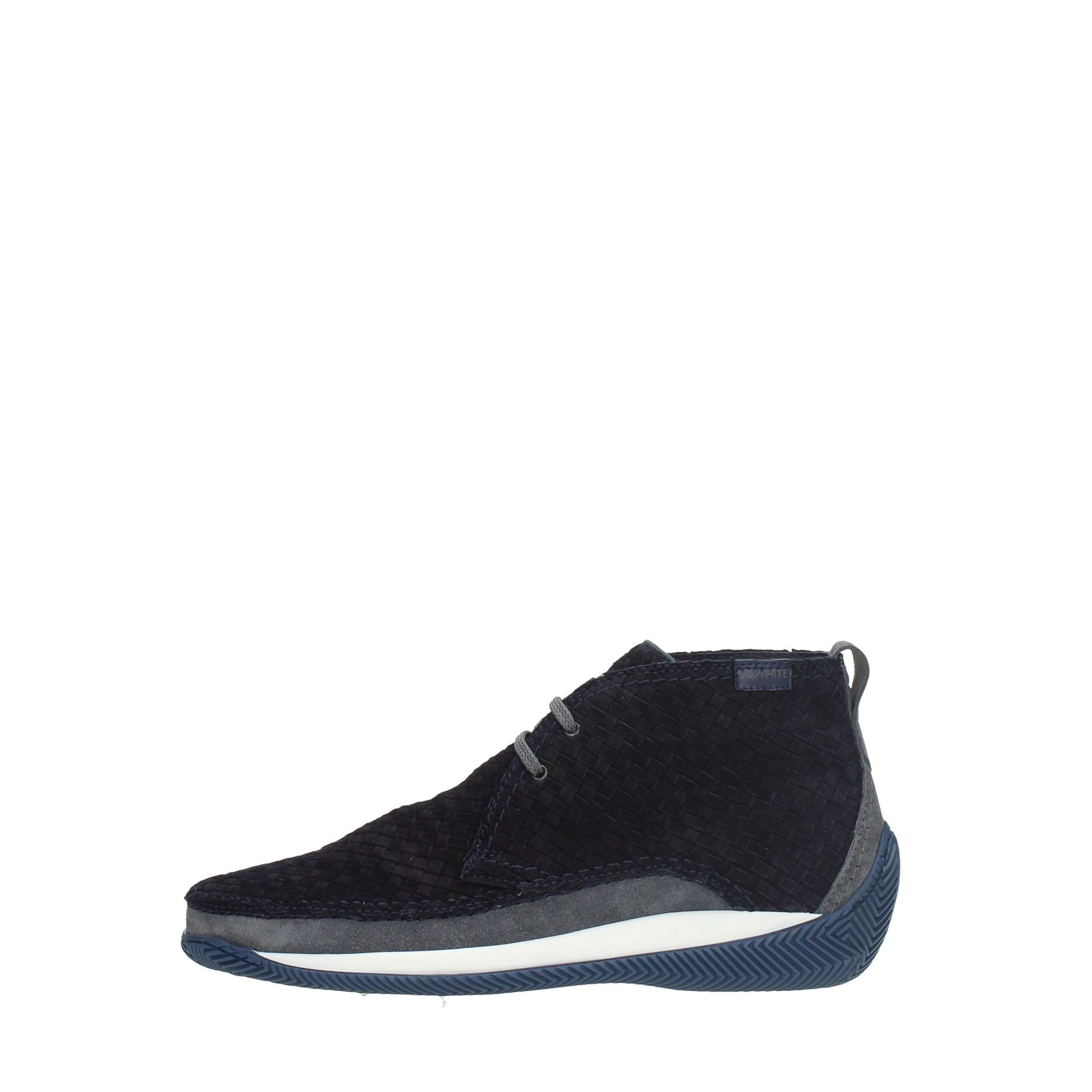 Lo.white Shoes Man Booties Blue 28030/BLU