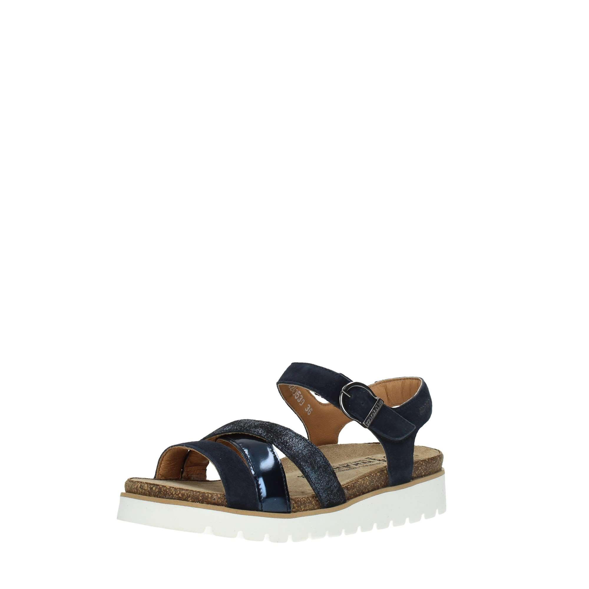 Mephisto Shoes Women Sandals Blue THINA