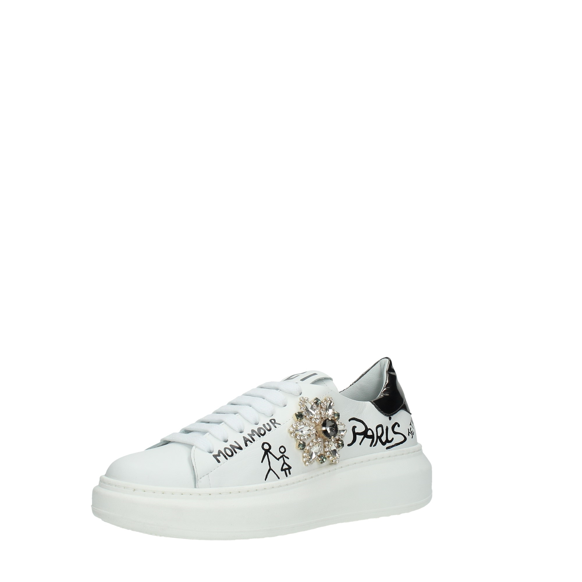 Gio+ Shoes Women Sneakers White G2043