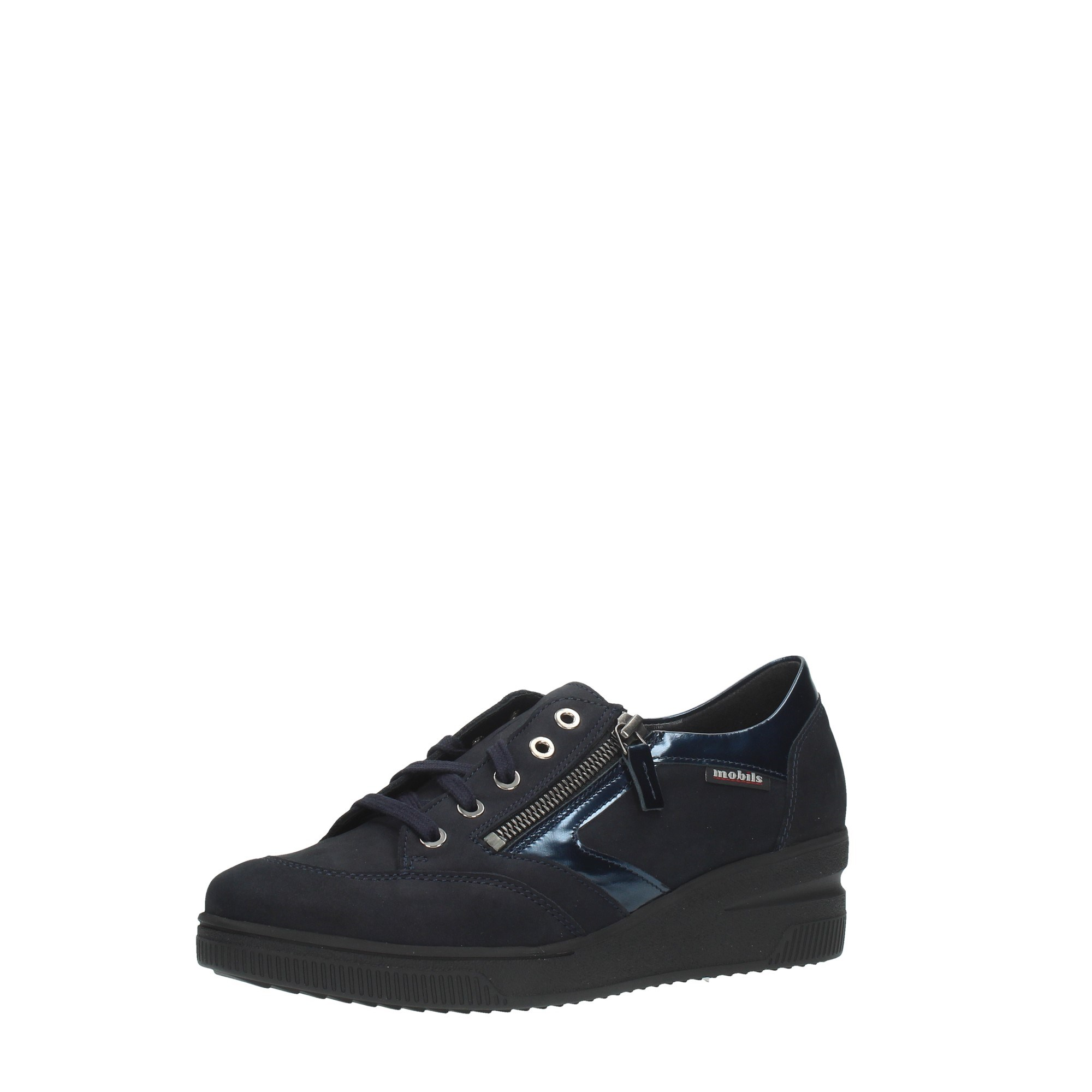Mephisto Shoes Women Laced Blue NADIA