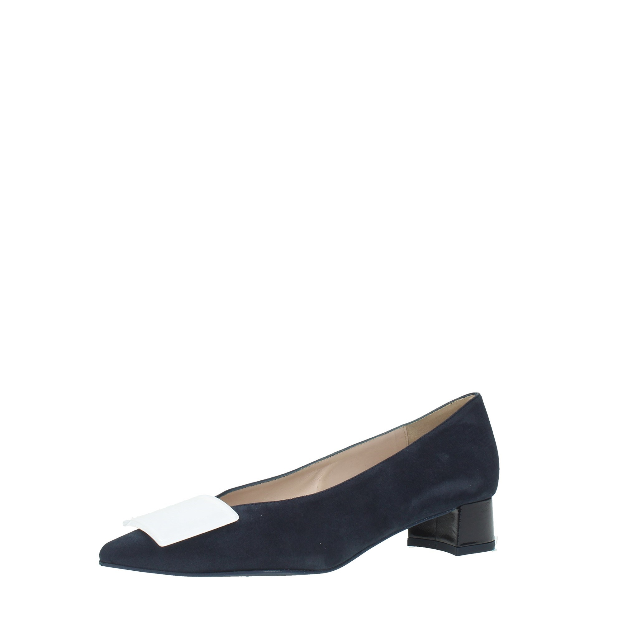 Ancarani Shoes Women Cleavage And Heeled Shoes Blue AN9653