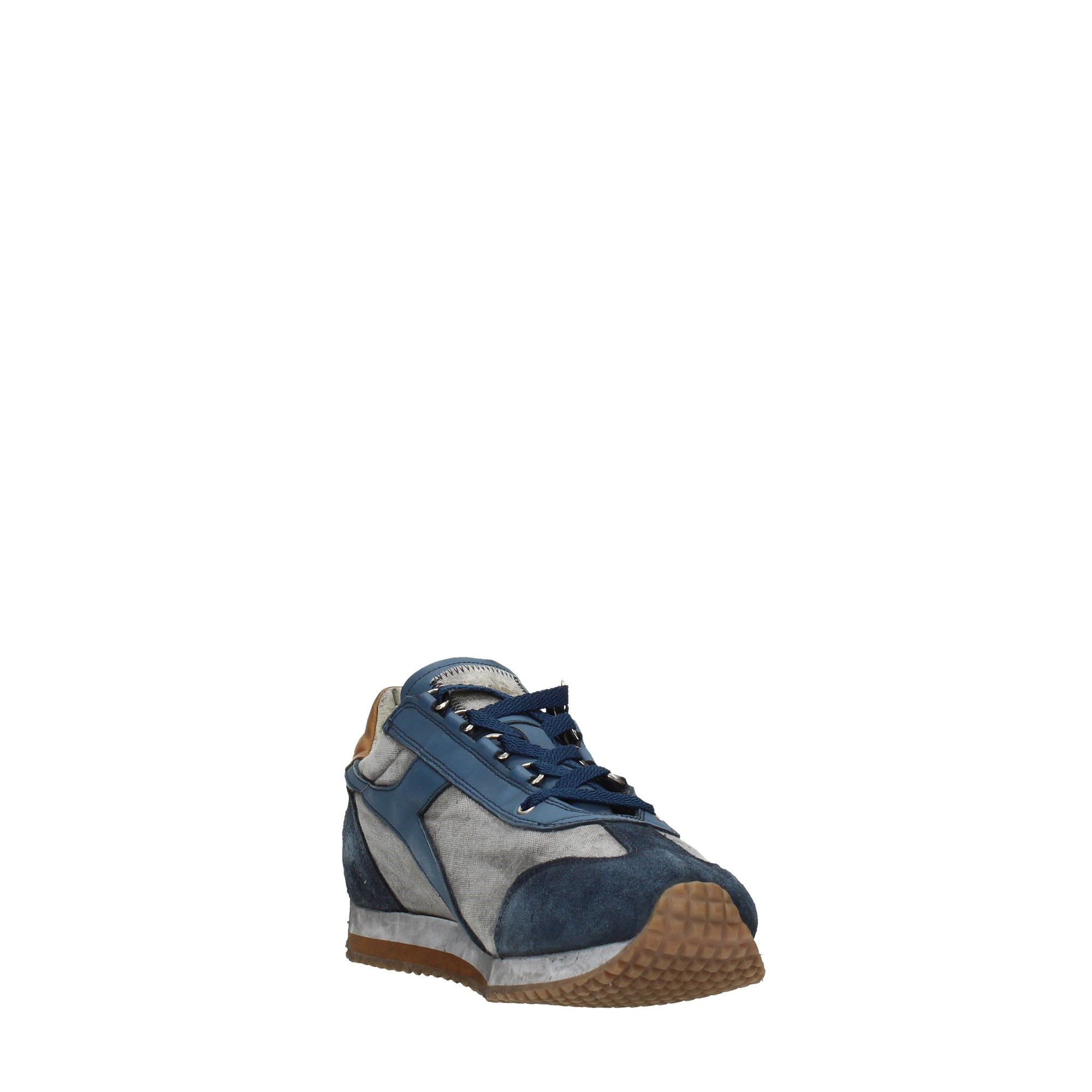 Diadora Heritage Shoes Man Sneakers Blue 201.174736