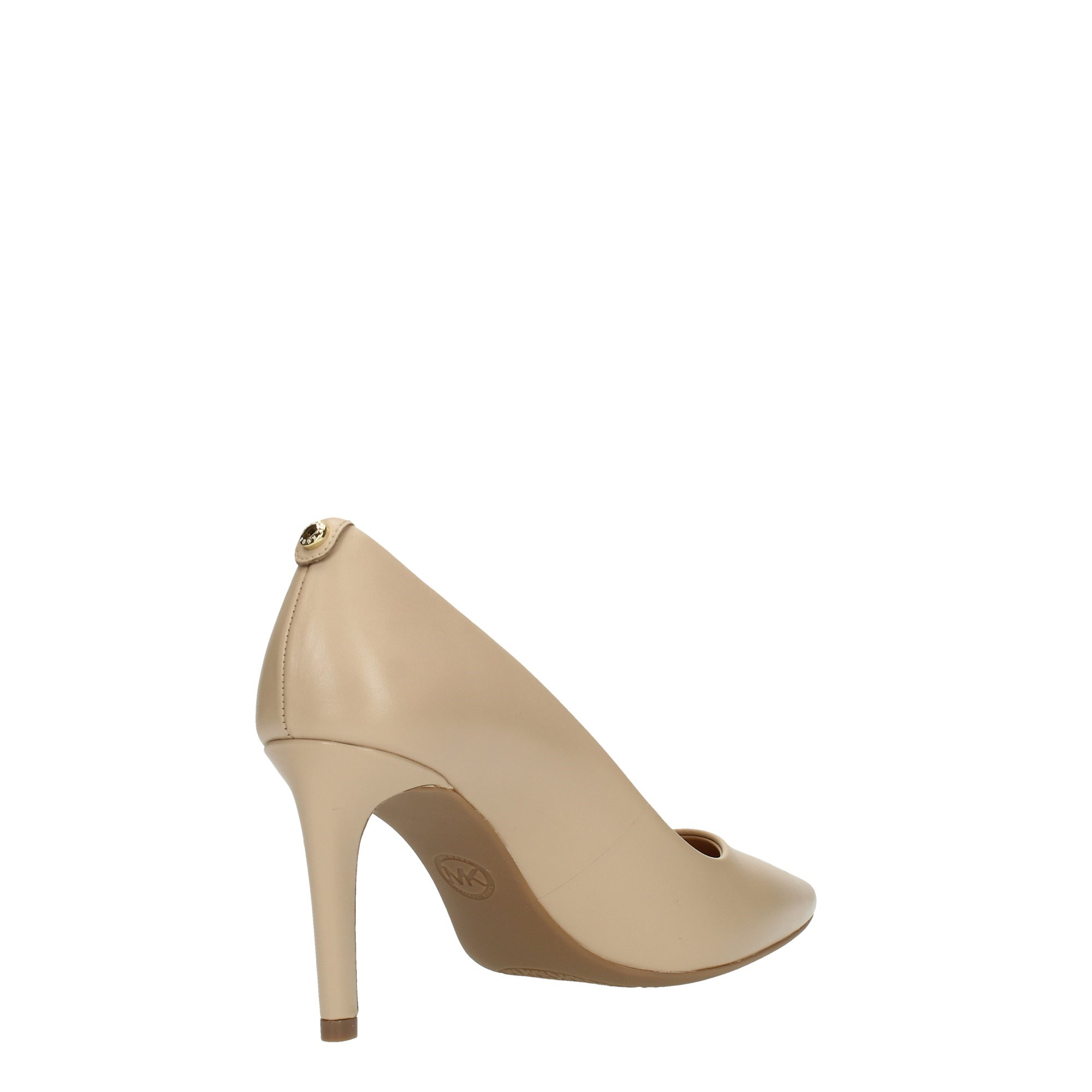 Michael Kors Shoes Women Cleavage And Heeled Shoes Beige 40F6DOMP1L