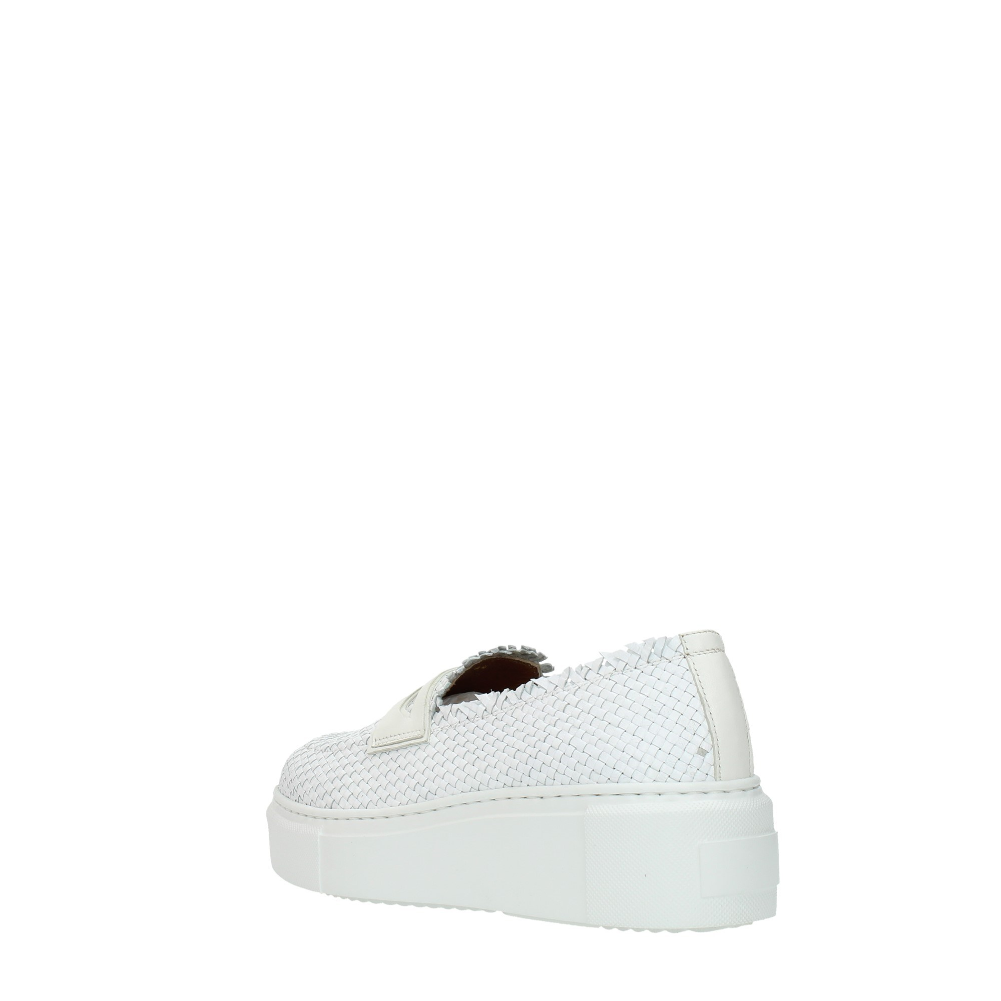 Bervicato Shoes Women Moccasins And Slippers White B4026