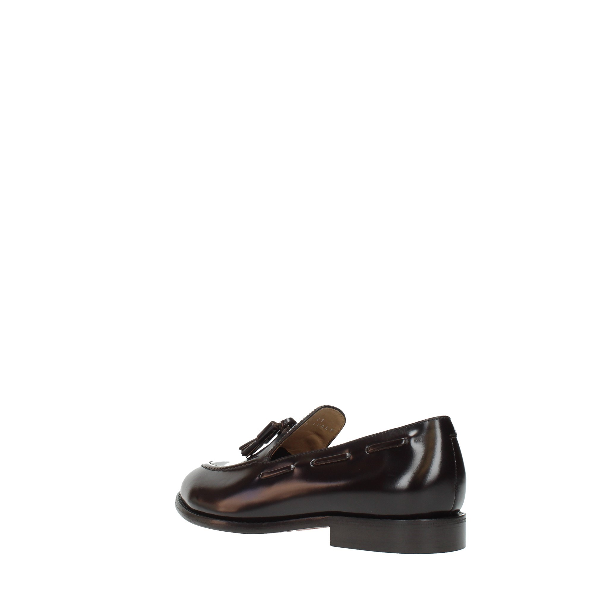 Lo.white Shoes Man Moccasins And Slippers Black 29001
