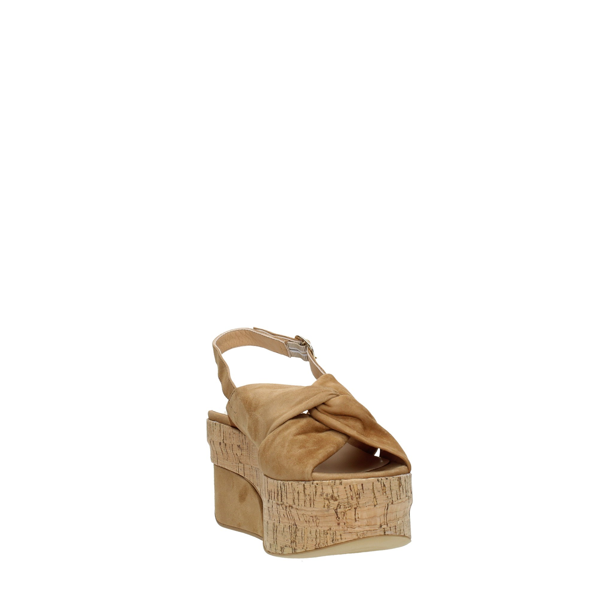 Jeannot Shoes Women Wedge Sandals Beige 35243