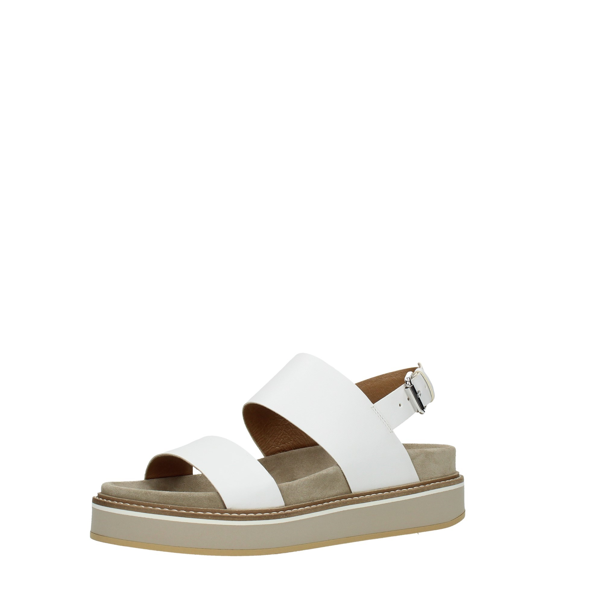 Janet Sport Shoes Women Wedge Sandals White 45754