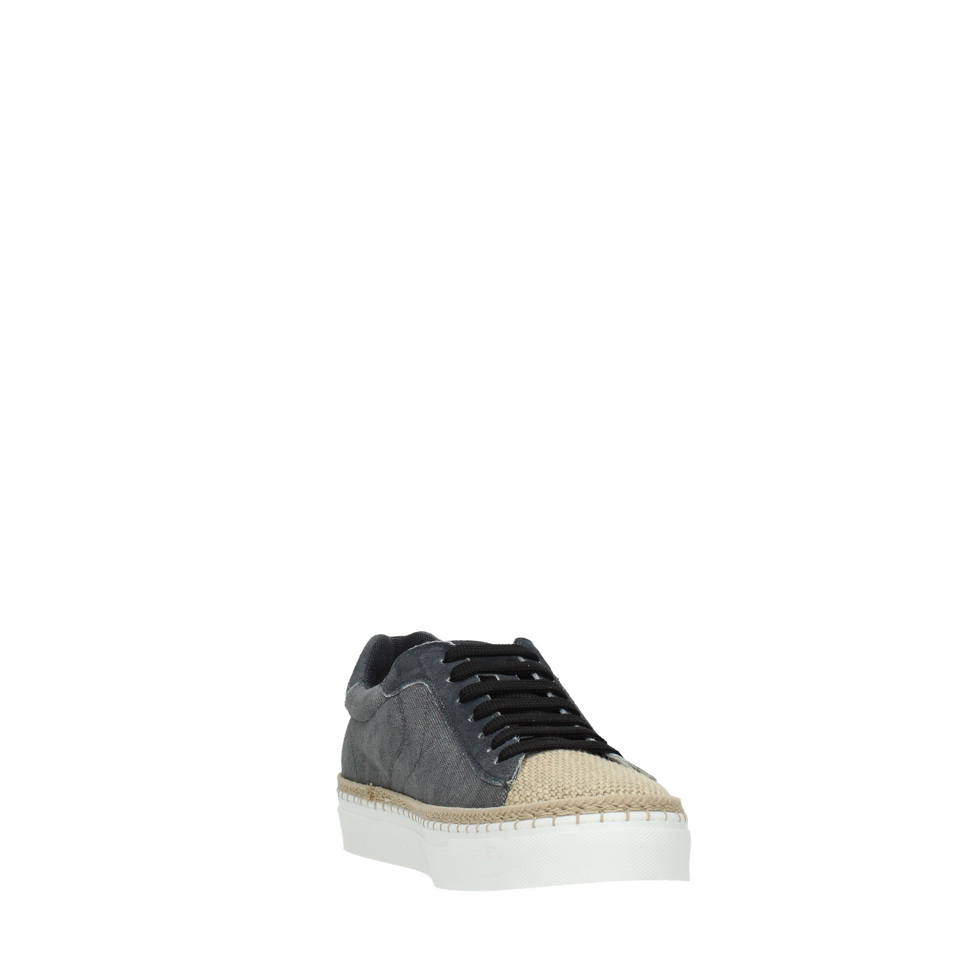 Voile Blanche Shoes Man Sneakers Black AMALFI