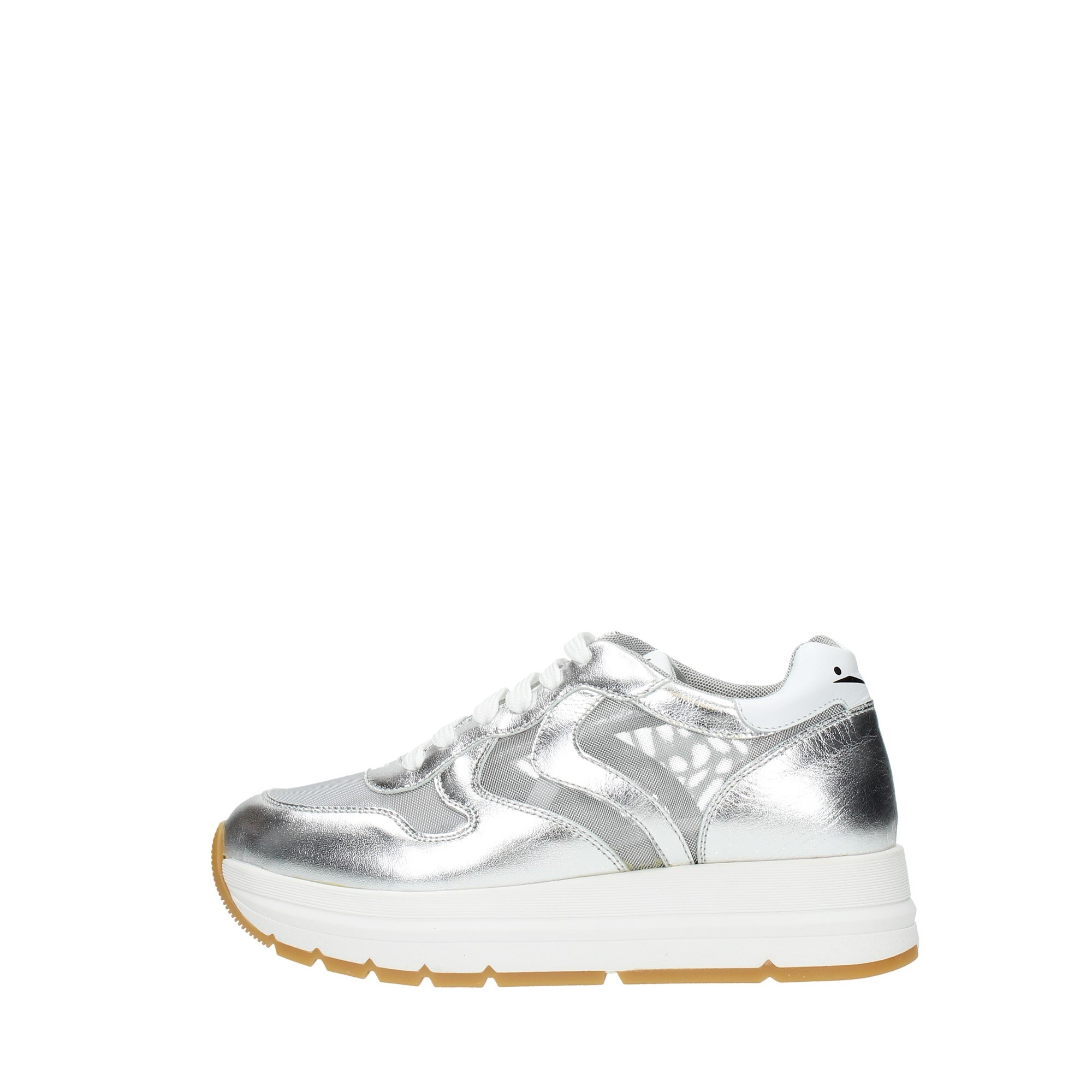Voile Blanche Shoes Women Sneakers Silver MARAN MESH