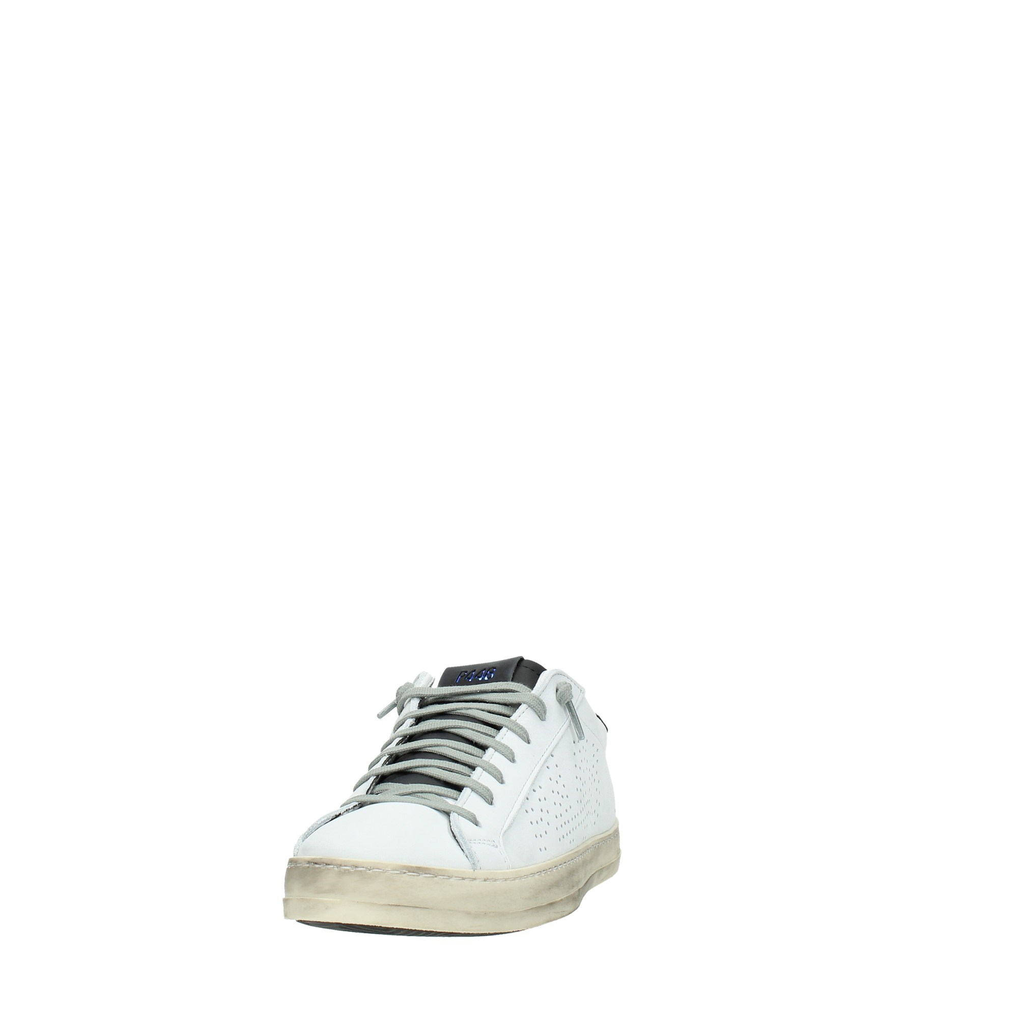 P448 Shoes Man Sneakers White JHON WHITE/ORA