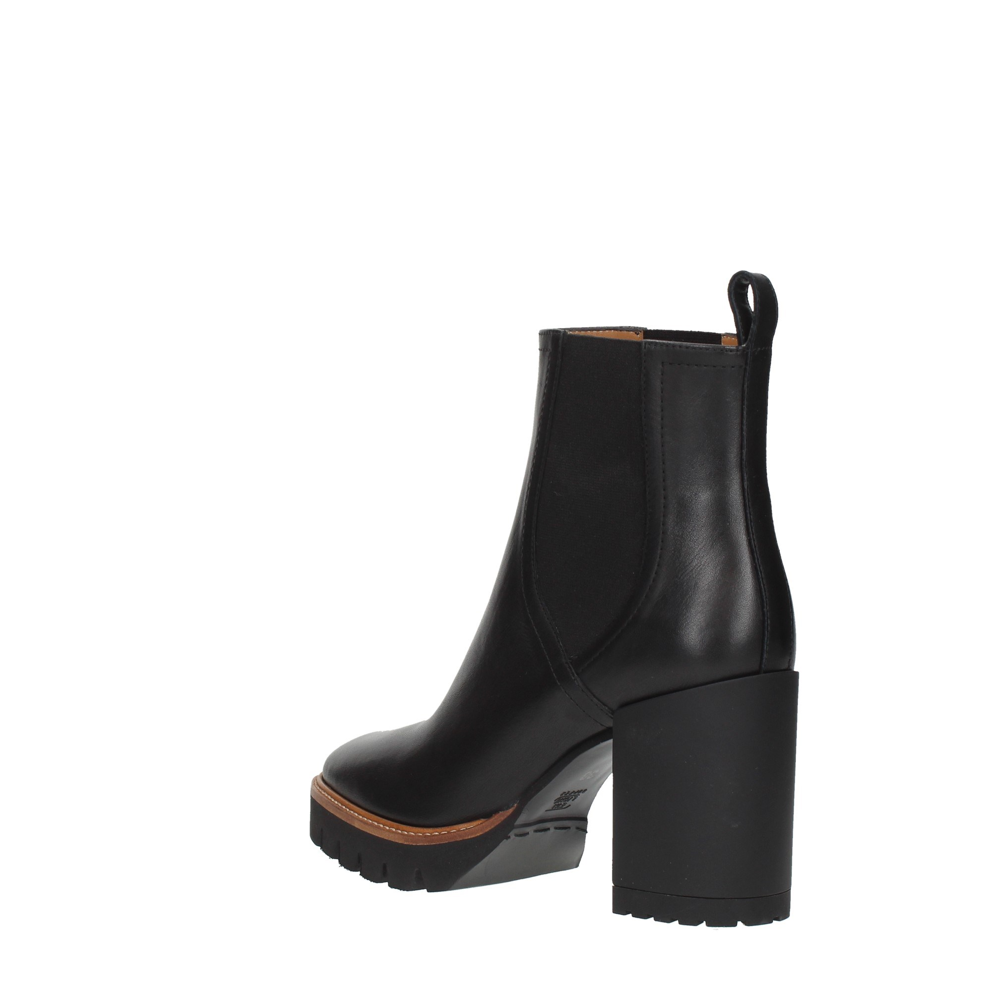 Bervicato Shoes Women Booties Black 3811