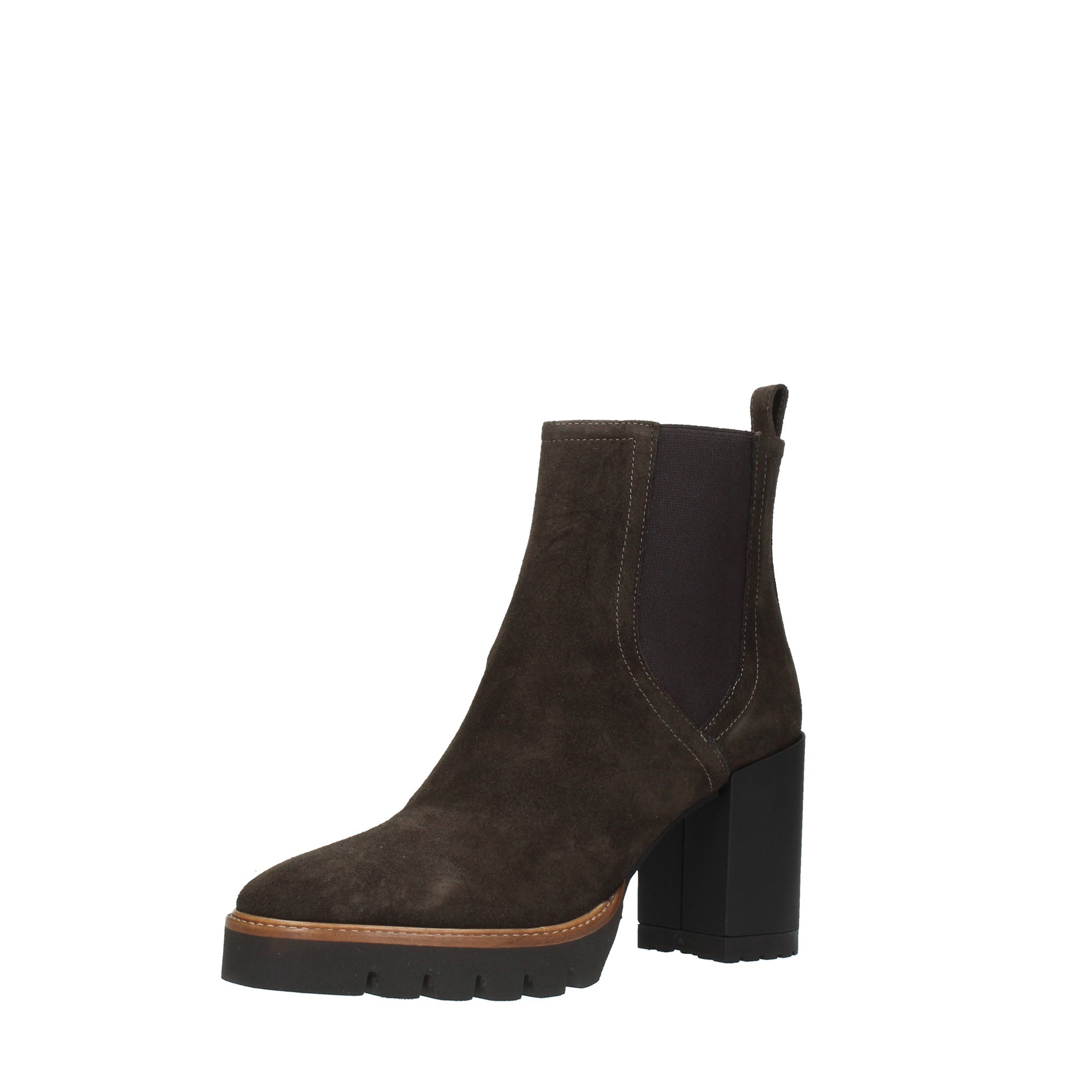 Bervicato Shoes Women Booties Brown 3811