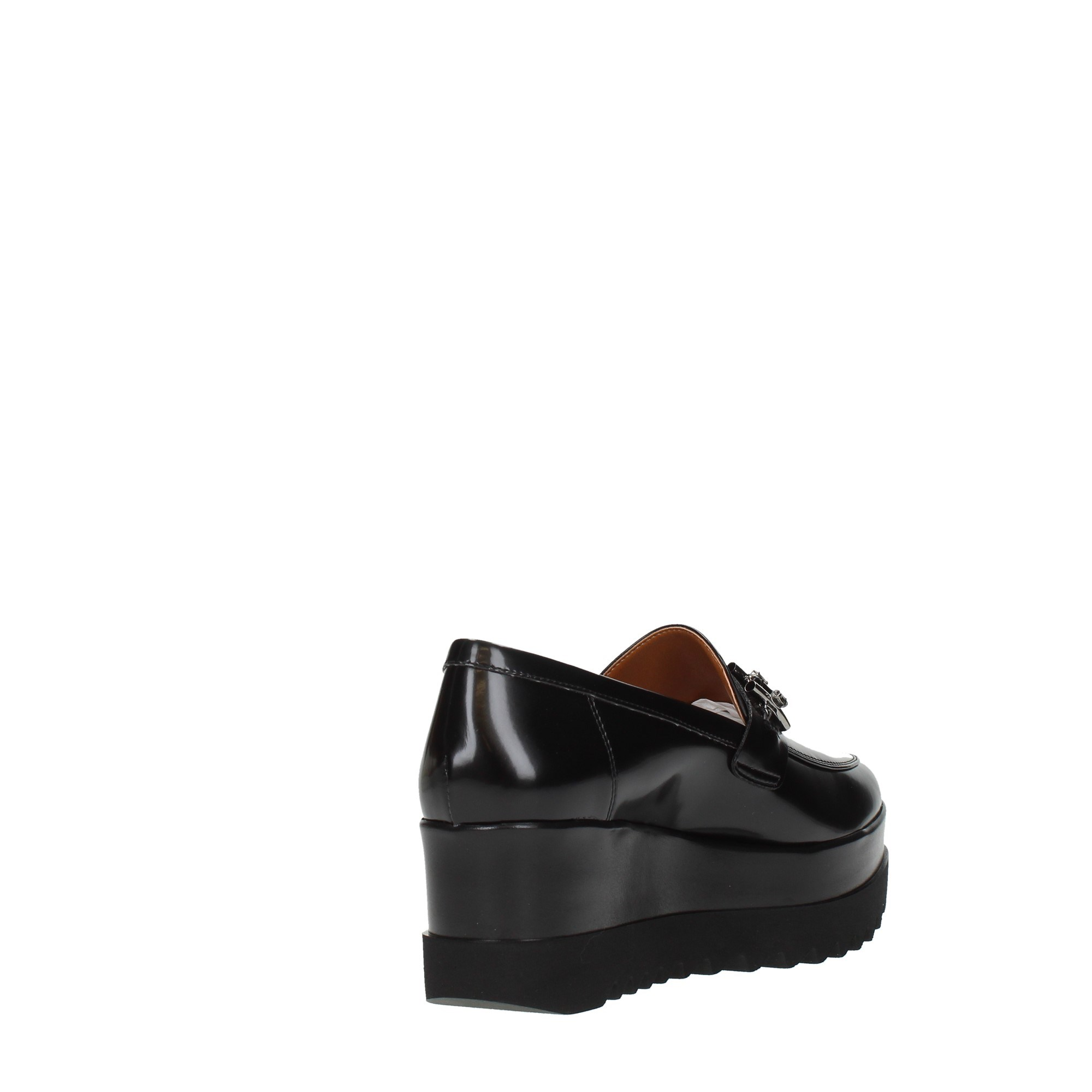 Lorenzo Mari Shoes Women Moccasins And Slippers Black 1743