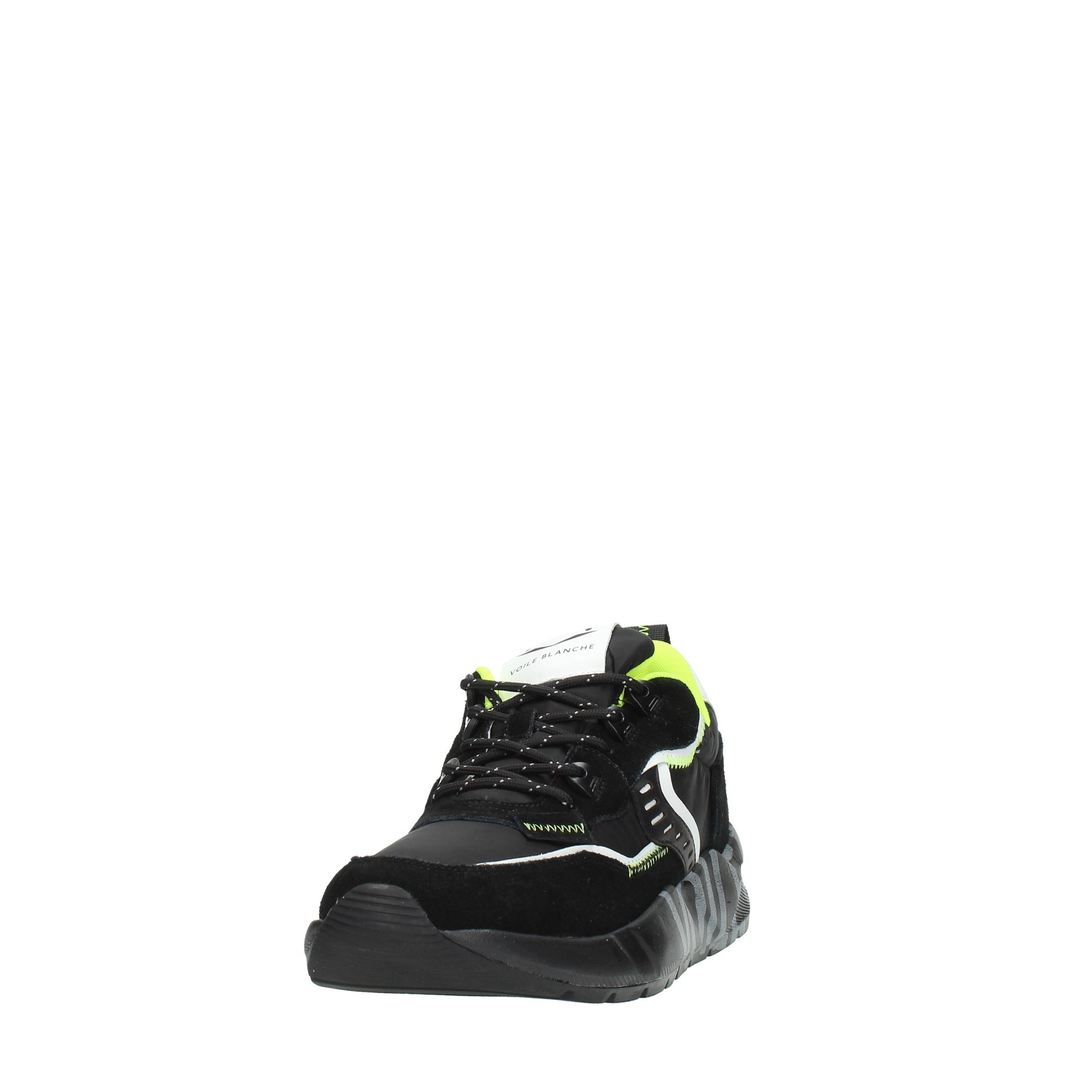 Voile Blanche Shoes Man Sneakers Black CLUB01