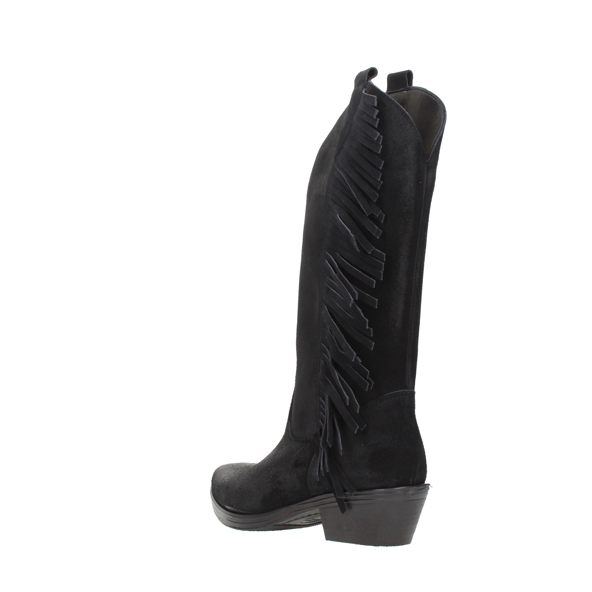 Diamonique Shoes Women Booties Black TEX FRANGIA