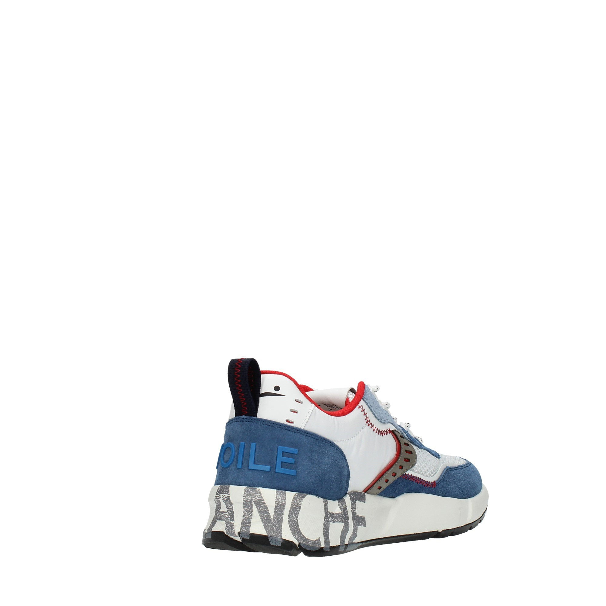 Voile Blanche Shoes Man Sneakers Blue CLUB01 SUEDE MESH NY