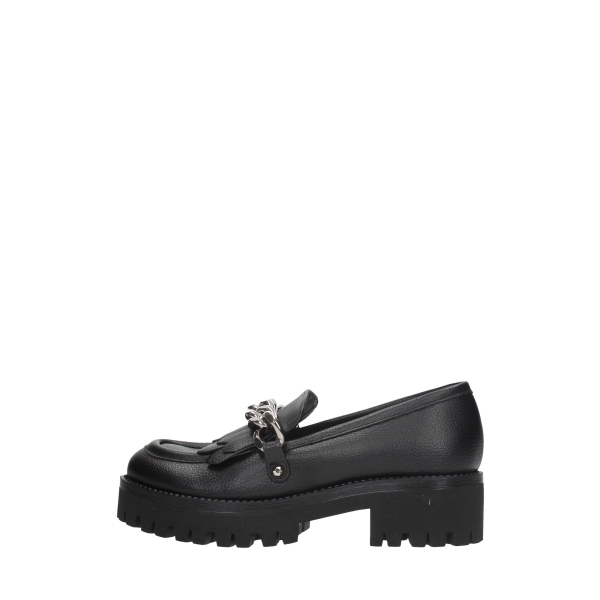 Pollini Moccasins And Slippers Black