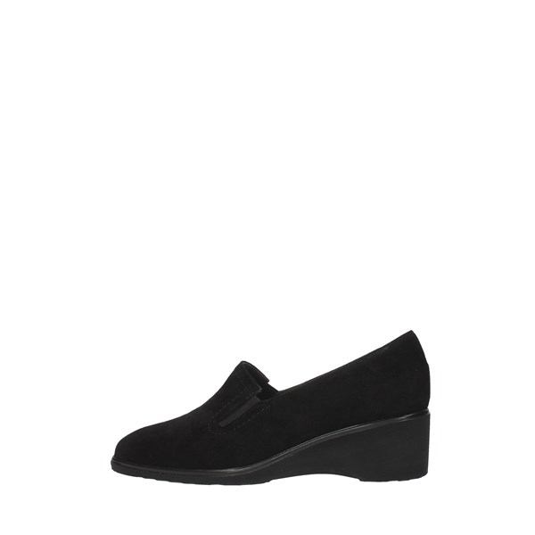 Daniela Rossi Moccasins And Slippers Black