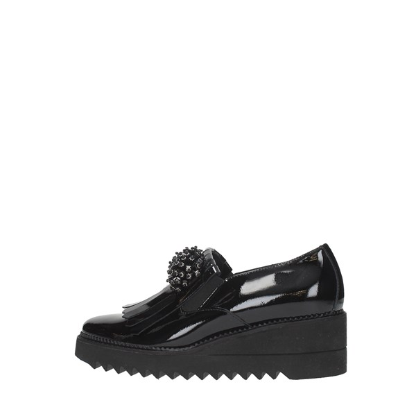 Luca Grossi Moccasins And Slippers Black