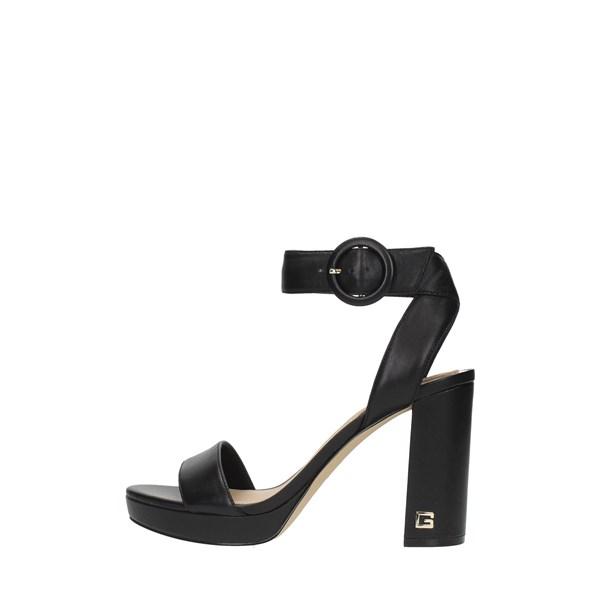 scarpe donna guess guess sandali con tacco 36 nero classico