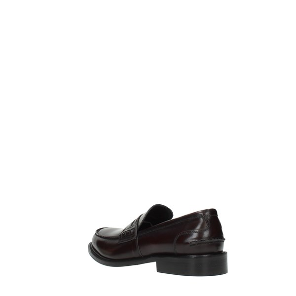 Mec's Moccasins And Slippers Bordeaux