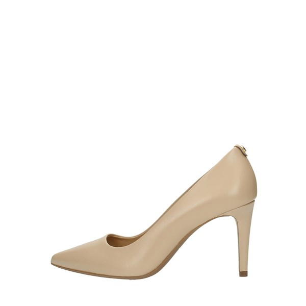 Michael Kors Cleavage And Heeled Shoes Beige