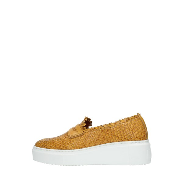Bervicato Moccasins And Slippers Yellow