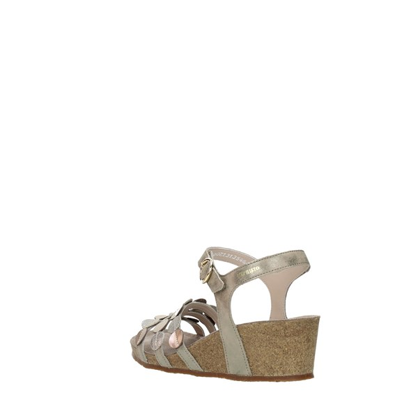 Mephisto Wedge Sandals Beige