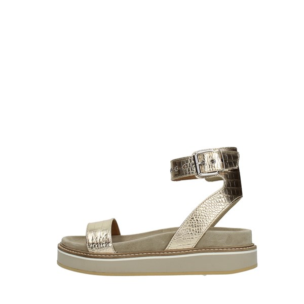 Janet Sport Wedge Sandals Platinum