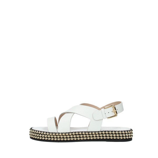 Michael   Batic Sandals White
