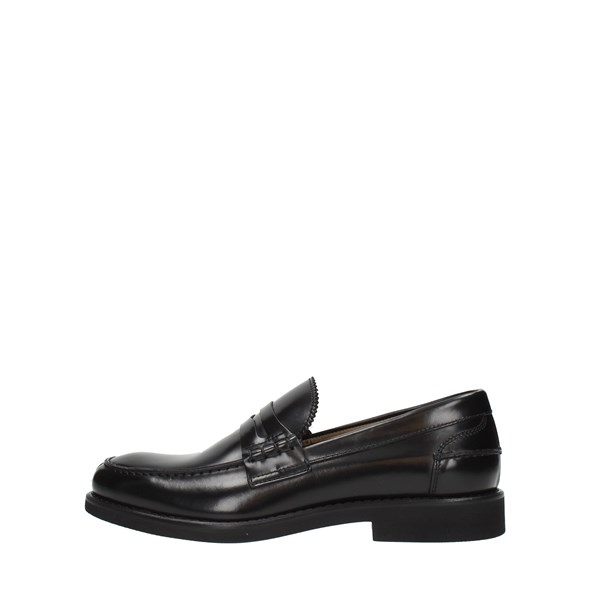 Rossi Moccasins And Slippers Black