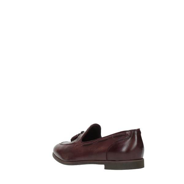 Jp David Moccasins And Slippers Bordeaux