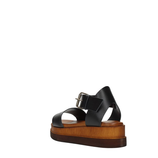 Millami Wedge Sandals Black