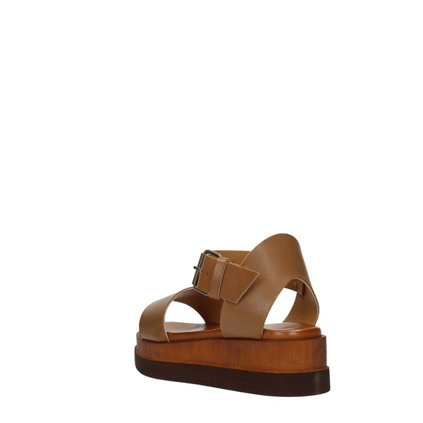 Millami Wedge Sandals Leather