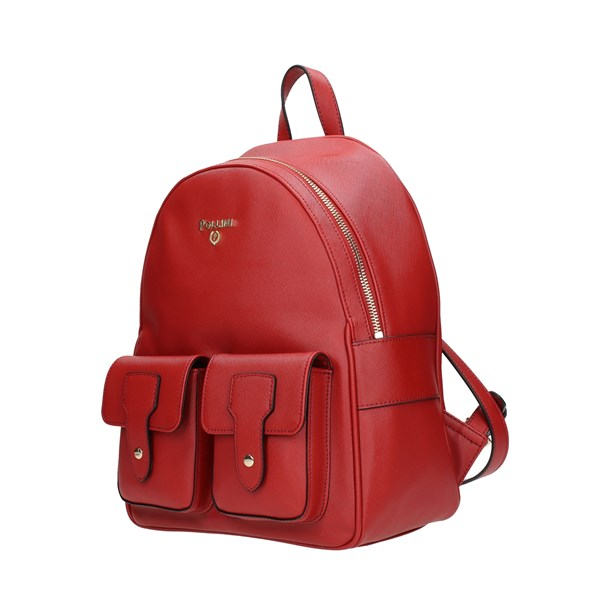 Pollini Backpack Red