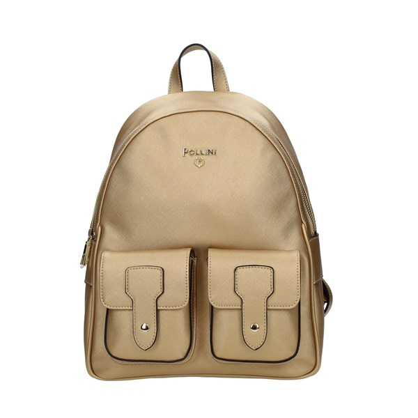 Pollini Backpack Gold