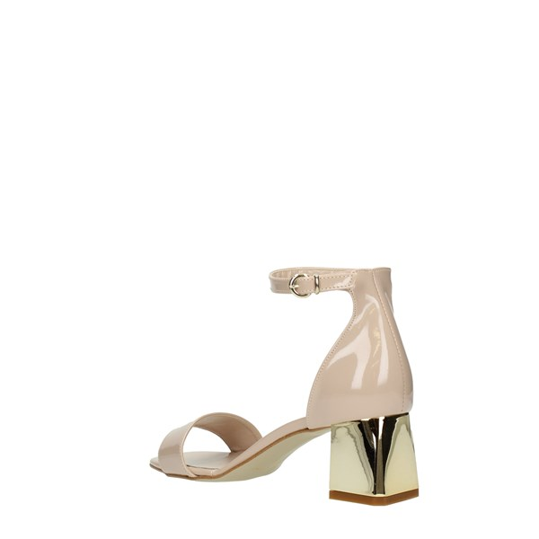 Diamonique Sandals Beige