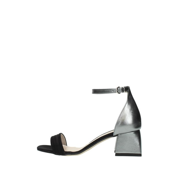 Diamonique Sandals Black