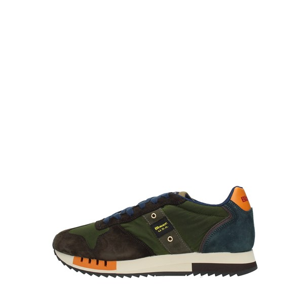Blauer Sneakers Green