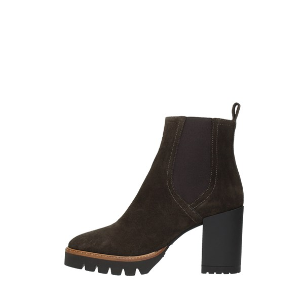 Bervicato Booties Brown