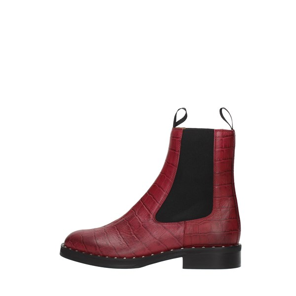 Bervicato Booties Bordeaux