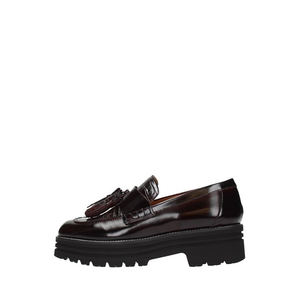 Lorenzo Mari Moccasins And Slippers Bordeaux