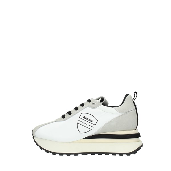 Blauer Sneakers White