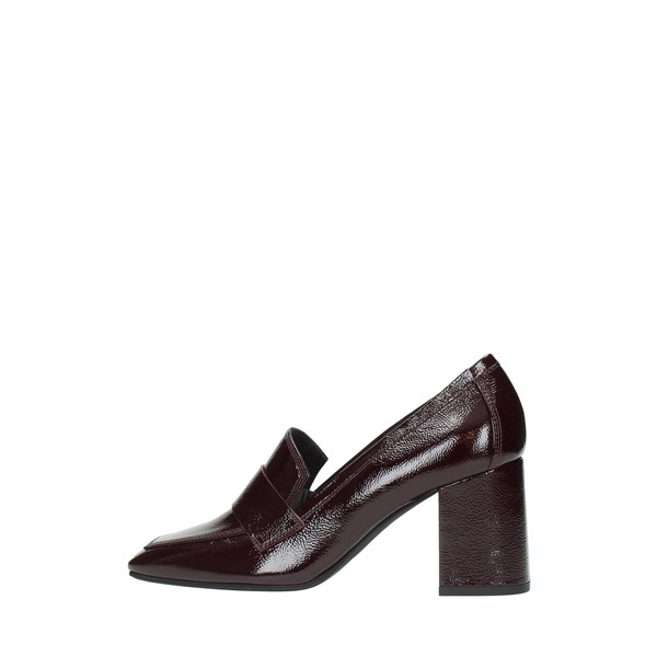 Lella Baldi Moccasins And Slippers Bordeaux