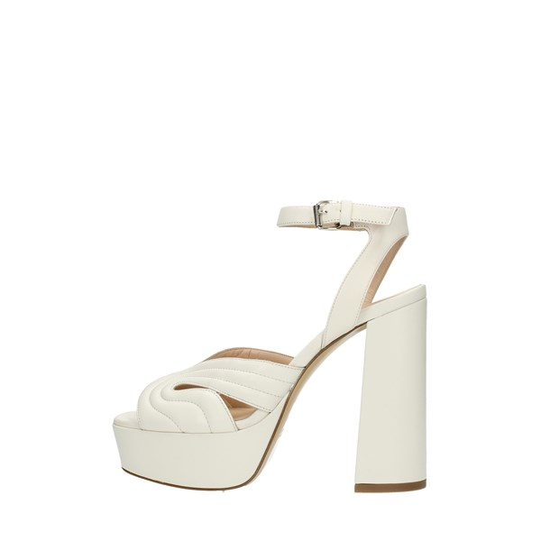 Strategia Sandals White