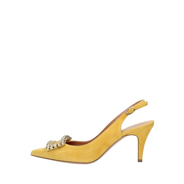 Fratelli Russo Elegant shoes Yellow