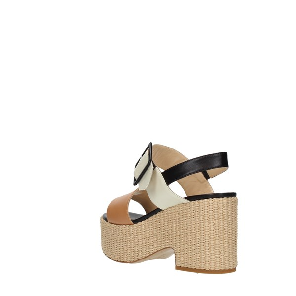 Shada Wedge Sandals Multicolor