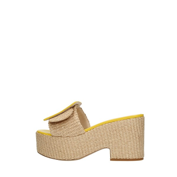 Shada Sandals Yellow