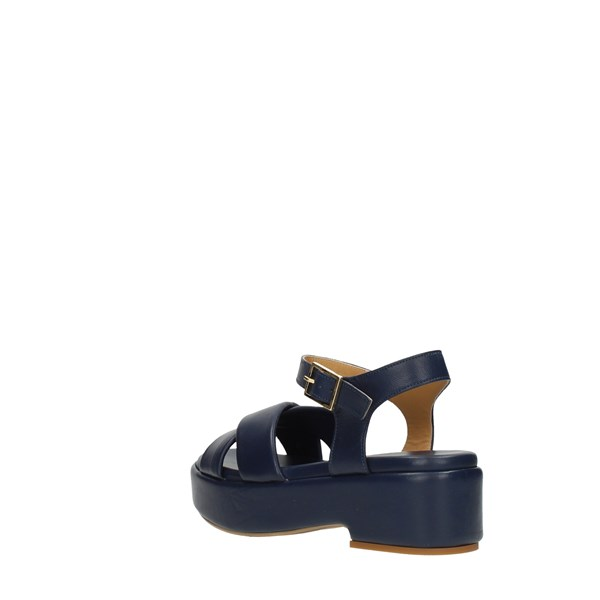Silvia   Rossini Wedge Sandals Blue